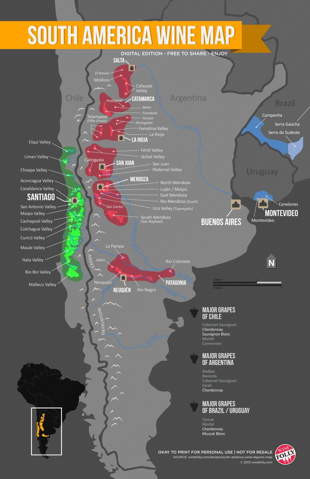 vinos de argentina wine folly